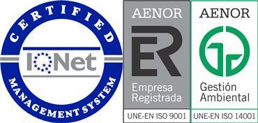 Certificados de la empresa Borraz Hernández