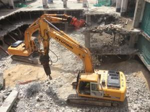 Martillo Demoledor Reconstrucción