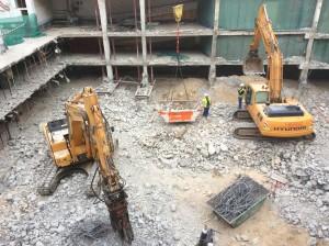 Demolición-Picado-Martillo