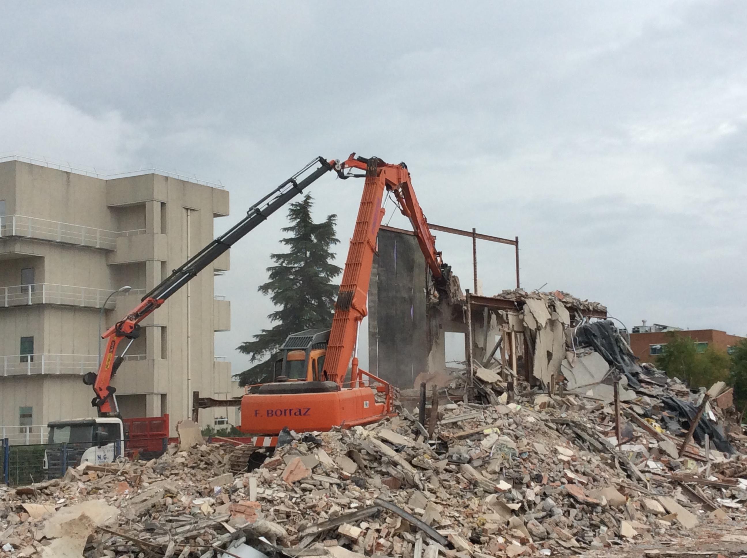 Demolición-Coslada